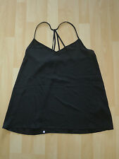 Womens Size Large Black Strappy Top by Abercrombie & Fitch