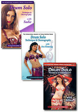 Belly Dance Drum Solo DVD Set - How to Belly Dance Videos
