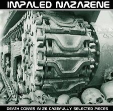IMPALED NAZARENE - Death Comes In 26 Carefully Selected Pieces CD SEALED mayhem