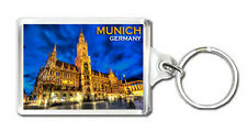 MUNICH GERMANY KEYRING SOUVENIR NEW LLAVERO