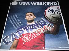 USA WEEKEND MAGAZINE JUNE 2014 CLINT DEMPSEY TEAM USA SOCCER WORLD CUP FIFA