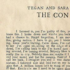 The Con [Digipak] by Tegan and Sara (CD, Jul-2007, Sire)