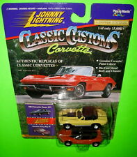 Johnny Lightning Classic Customs 1967 Corvette Coupe 427 Sting Ray III Series 1