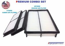 AF4688 C16098 ENGINE & CABIN AIR FILTER COMBO FOR 2010 - 13 MAZDA 3 NON-SKYACTIV