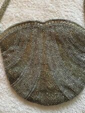 DOROTHY PERKINS GOLD & SILVER BEADED EVENING BAG BNWT £20