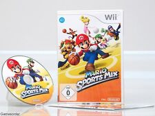 MARIO SPORTS MIX  - dt. Version -  +Nintendo Wii Spiel+