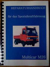 Reparaturhandbuch Multicar 26 Reparaturanleitung M26 no M25 IFA W50 L60 Robur