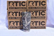 New RTIC 20oz Stainless  Tumbler Hydro Dipped in True Timber camo Flat