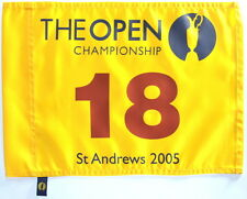 2005 OFFICIAL (St. Andrews) BRITISH OPEN Golf FLAG