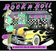 Rock 'n' Diner: 50 Classic Hits from the Legends (NEW 2CD, 2013, Metro Select)