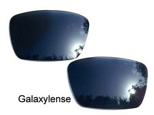 Galaxy Replacement Lenses For Oakley Fuel Cell Iridium Black Polarized 100%UVAB