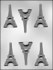 3 Inch Flat Eiffel Tower Chocolate Candy Mold Paris France