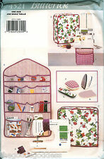 Butterick 4521 Wall Organizer Ironing Board Cover sewing pattern UNCUT FF Craft