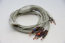 NEW BIONET 10 Lead ECG/EKG Cable AHA Banana  CARDIOCARE CARDIOTOUCH 2000/3000