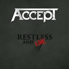 ACCEPT-RESTLESS AND LIVE-JAPAN 2 CD G35