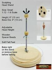 M01070 MOREZMORE Sculpting Doll Figure Head Armature Stand SMALL 1:12 - 1:6