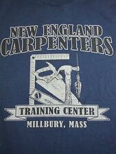 Vintage New England Carpenters Massachusetts Woodworking Wood Carving T Shirt M