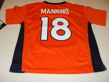 NFL Jersey Denver Broncos Peyton Manning Football Large Age 6X/7 Child Kids Home