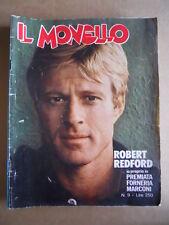MONELLO n°9 1976 Robert Redford Premiata Forneria Marconi  [G548]