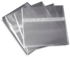 500-Pak =RESEALABLE= Plastic Wrap CD Sleeves, for 10.4mm Jewel Cases!