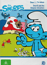 THE SMURFS AND THE MAGICAL ADVENTURE + SMURF TO THE MUSIC  2DVD SET NEW SEALED!