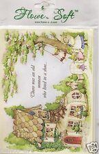 Fleur doux fleur carte Toppers Nursery Rhyme Collection Idéal Pour Fabrication Carte