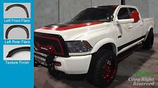 FENDER FLARES Extension Style  2010-2016 DODGE RAM 2500 3500 TEXTURED Finish