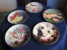 5 Collectors Plates,After an Original Work by Hahn Vidal ,Royal  Doulton '75-'80