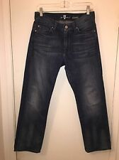 Ladies Seven For All Mankind Slimmy Straight Leg Jeans Size 30 X 27