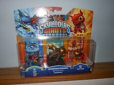 SKYLANDERS GIANTS SCORPION STRIKER Battle Pack   -  Zap, Catapult & Hot Dog