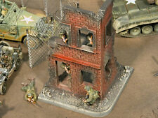 *** RETIRED ***  Build-a-Rama 1:32 Hand Painted 2 Story City Building