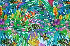 Deko Möbel Patchwork Stoffe Baumwolle Vorhang Blumen & Schmetterlinge 1312/25