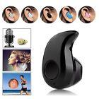 Mini Wireless Bluetooth 4.0 Stereo In-Ear Headset Earphone  Universal Black Nice