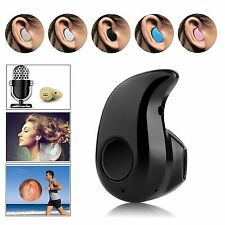 Nero Mini Wireless Bluetooth 4.0 Audio cuffie auricolari Sport Telefono Per Auto