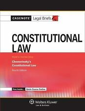 Casenote Legal Briefs: Constitutional Law : Chemerinsky's Constitutional Law...