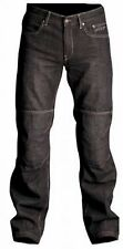 "RST MOTORCYCLE KEVLAR DENIM JEANS NEW black 3XL/40""  ADJUSTABLE KNEE ARMOR"