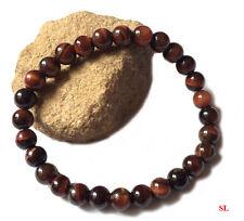 Bracelet en pierre oeil de TAUREAU,  perles 6mm LITHO-REIKI, gemstone