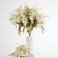 240 Cream SILK ORCHID FLOWERS Wedding Discounted Bouquets for Centerpieces SALE