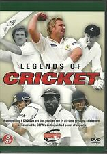 LEGENDS OF CRICKET 6 DVD SET WEST INDIES SOUTH AFRICA INDIA & MORE ESPN CLASSICS
