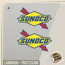 PEGATINA SUNOCO RACING FUEL NASCAR VINYL STICKER DECAL ADESIVI