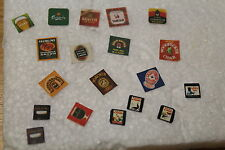 DOLLS HOUSE Set of 20 Miniature Beer Mats