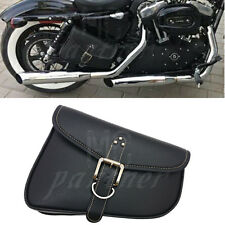 PU Leather Right side Saddlebag Saddle Bag For Harley Sportster Iron 48 72 883