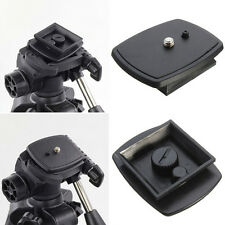 Tripod Quick Release Plate Screw Adapter Mount Head For DSLR SLR Camera WB