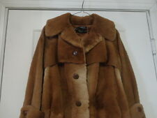VINTAGE KANGAROO LONG FUR COAT EXCELLENT CONDITION MADE IN AUSTRALIA