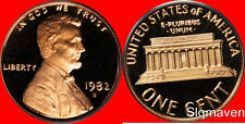 1982 S Lincoln Cent Deep Cameo Gem Proof No Reserve