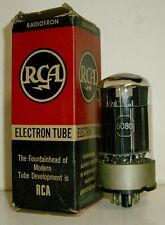 Vintage RCA 6080 Electron Tube - Double Triode Power Supply