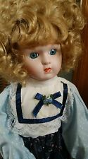 The Heritage Mint Ltd Collection Doll - Heather - Porcelain Doll + Stand