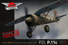 1/32 Silver Wings PZL P.11 Polish WW II Fighter Limited edition #31-018