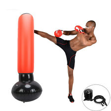 High Quality Inflatable Stress Boxing Punch Tower Standing Box Fun Workout Bag W