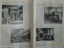 Great Western Railway Works Swindon Locomotive Antique Victorian Article 1891